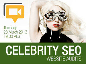 Celebrity Website Audit